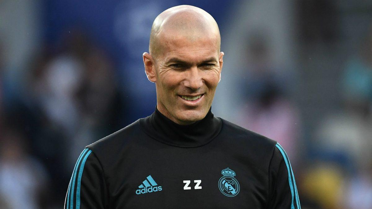 Zidane Isyaratkan Revolusi Untuk Tim Real Madrid