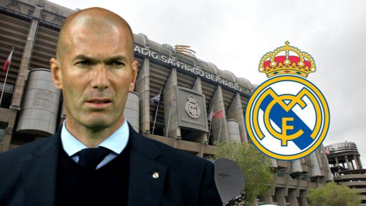 Zidane Resmi Kembali Melatih Real Madrid