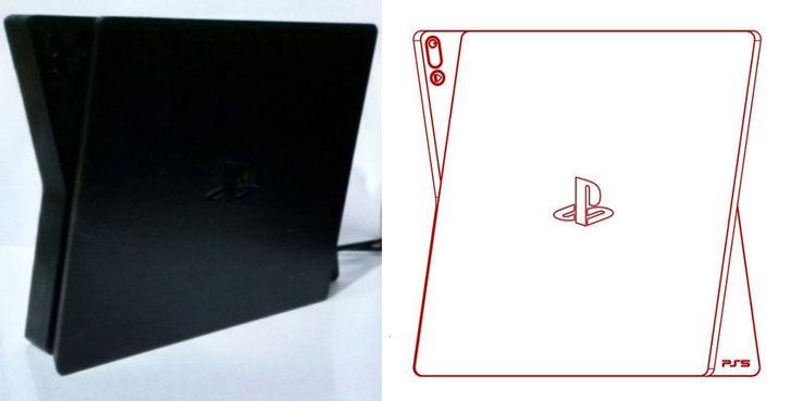 Gambar Bocoran Desain Playstation 5 Kelihatannya Benar