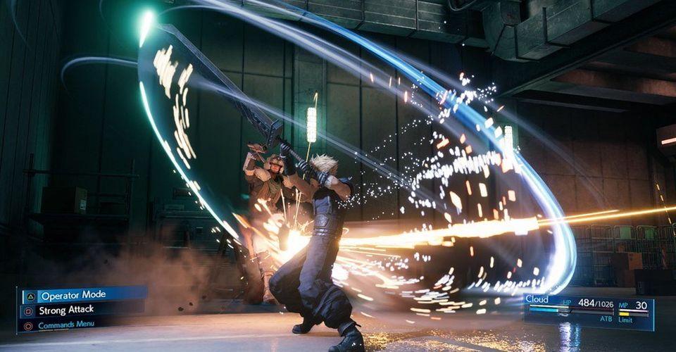 Final Fantasy 7 Remake Combat Dibuat Berkali-kali